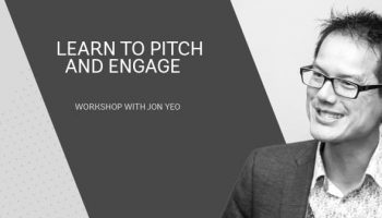 Learn to Pitch and Engage with Jon Yeo, curator Digital Womens Network,