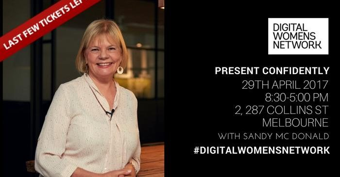 Present Confidently; one day course! with Digital Women's Network