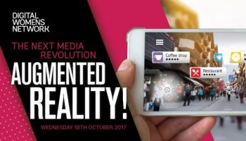 The next media revolution, Augmented reality& Digital Womens Network