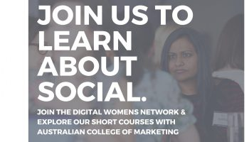 Writing a Social Media Strategy : with Austalian College of Marketing (Melbourne)