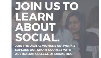 Writing a Social Media Strategy : with Austalian College of Marketing (Sydney)