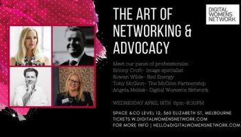 THE ART OF NETWORKING & ADVOCACY 2018