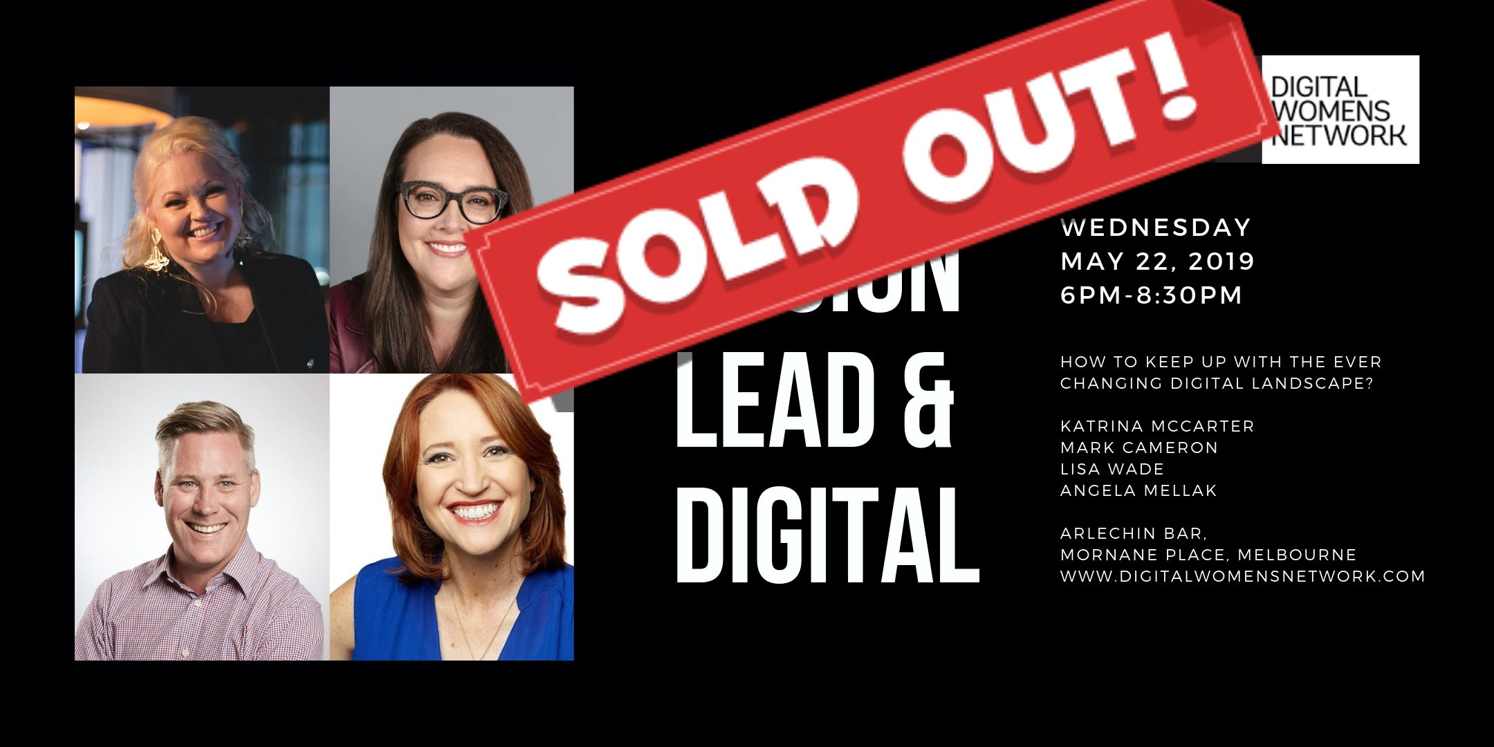 SOLD OUT!! HOW TO KEEP UP WITH THE EVER CHANGING DIGITAL LANDSCAPE!