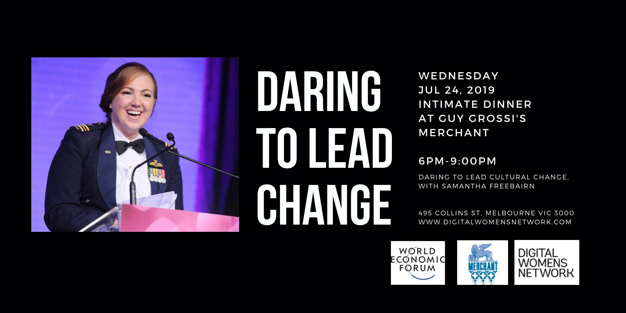 Dare to lead cultural change