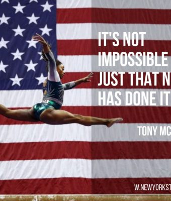 It's not impossible it's just that no-one has done it yet.. A quote from Tony McGinn OAM